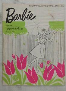 VINTAGE Mattel Barbie Magazine May-June 1963