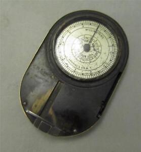 Earliest Known A. D. Leveridge Diamond Millimeter Gauge c. 1930 & Ring Sizer