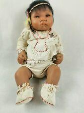 Künstlerpuppe  Indianer  Baby S.B.0.4   ADQ
