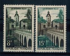 (a28)  timbres de France n° 1105/1106 neufs** année 1957