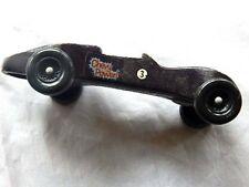 Vintage HomeMade Roadster Chevy Slot Car Racer Drag Street Racing Crafted Wooden