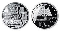 45911] 10 EURO - Industrielandschaft Ruhrgebiet - 2003 PP