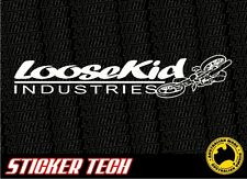 LOOSE KID LOOSEKID INDUSTRIES LKI STICKER DECAL SUITS MOTOCROSS KTM YAMAHA FMX