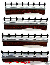 Dept. 56 Churchyard Fence Extensions Set of 4 Heritage 58076
