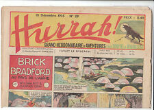HURRAH n°29 - 18 décembre 1935 - Très bel état.
