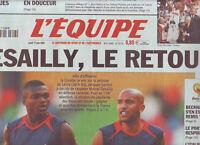 journal  l'equipe 17/06/2004  FOOTBALL EURO 2004  DESAILLY DACOURT BASKET NBA