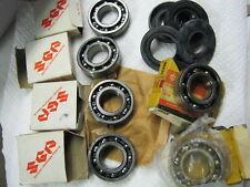 Suzuki GT380 nos main bearing & seal set 1972-1977