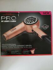 Pro Beauty Tools Professional Ionic Copper Ceramic Hair Dryer.