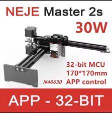 New Neje Master 2s 30w Laser Engraving Machine Engraver Cutter