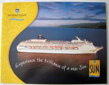 NORWEGIAN SUN -- Interiors Booklet, 2001 -- Norwegian Cruise Line