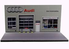 Diorama présentoir Audi - Azur Automobiles - 3 inch   1/64ème - #3in-2-C-C-007