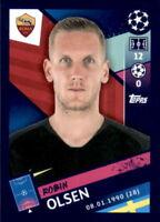 Topps Champions League 18/19 - Sticker 273 - Robin Olsen