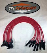 AMC/JEEP V8 290,304,343,360,390 + 401 RED HEI 8mm SILICONE PLUG WIRE SET