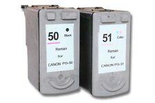 2x XXL CARTUCHO TINTA negro y color para CANON Pixma mp210 mp220