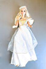 """1992 Mattel My Size Barbie ANGEL w/ Halo 38"""""""