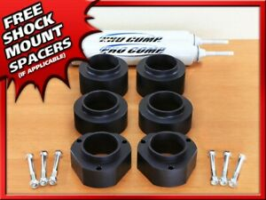 "For 1989-1998 Geo Tracker 2"" Front + Rear Suspension Lift Kit w/ Shocks"