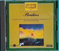 CD LES GÉNIES DU CLASSIQUE 2/24 BRAHMS EDITION ATLAS Ref 0886
