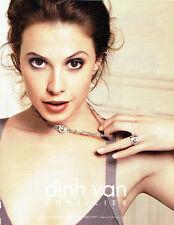 Publicité Advertising 028  2009   Dinh Van joaillier collection menottes