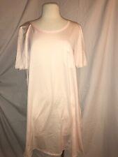 Hanro Cotton Nightshirt Crystal Pink Comfort/Soft  M