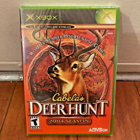 Cabela's Deer Hunt 2004 Season Microsoft Xbox 2003 NEW SEALED