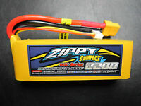 ZIPPY COMPACT 2200mAh 3S 11.1V 60C LIPO BATTERY TREX 450 3D EDF FPV RACE QUAD RC