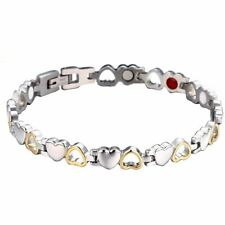 Stainless Steel Magnetic Far Therapy Negative Ion Bracelet Pain Relief Men Women