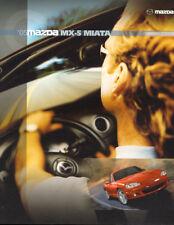 USDM Mazda MX-5 Miata Factory Brochure 2005