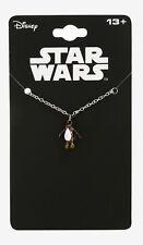 Jedi Dainty Porg Necklace New Star Wars: The Last