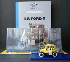 "VOITURES TINTIN CARS ""LA COLLECTION OFFICIELLE 1/24""  NEW SERIE  MOULINSART 2019"