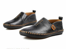 Men's Casual Slip On Loafer Shoes Driving Moccasine Fashion Sneakers Black 10.5
