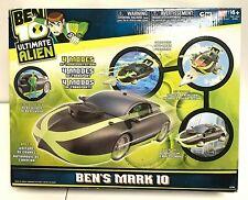 BEN 10 MARK 4 N 1 SUPER CAR RACER SUB JET OR HOVER alien cartoon force BANDAI 5G