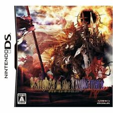 Knights in the Nightmare Limited Edition Nintendo DS Japan NEW with Tracking