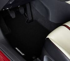 Genuine Mazda 2 Standard Black Carpet Mats - DE1FV0320