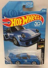 Hot Wheels Porsche 934.5 Blue 34 2/10 HW Nightburnerz C Case Die Cast Car