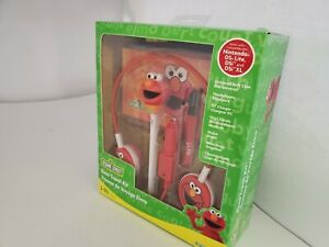 NEW Dreamgear SESAME STREET ELMO Case,Headphones,Car Charger for DS Lite X10