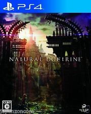 Used PS4 NAtURAL DOCtRINE SONY PLAYSTATION 4  JAPAN JP JAPANESE JAPONAIS IMPORT