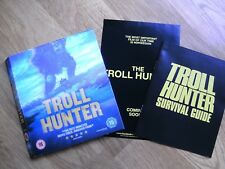 Trollhunter 2010 lenticular BR card slip Survival Guide book NEW Ovredal Autopsy