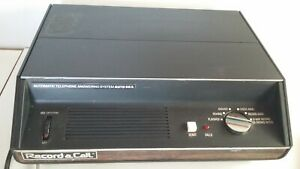 Vintage 1975 Record a call Automatic telephone answering machine. Working