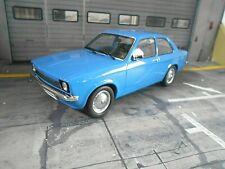 OPEL Kadett C Stufenheck 1973 - 1977 blue blau Metal 1/1500 lim 1:18