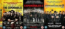 EXPENDABLES TRILOGY DVD TRIPLE PACK PART 1 2 3 Movie Film All Sealed EXPANDABLES