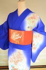 Kimono Silk Tsukesage Women & Silk Nagoya Obi SET/ Geisha Japanese vintage /210