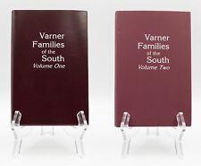 Varner Families of the South, 2 Volumes by Gerald H. Varner, Genealogy