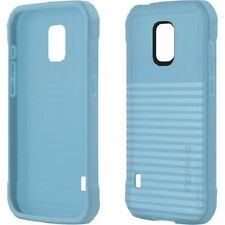 Incipio Rival Duo Clear Transparent Fitted Case for Samsung Galaxy S5 Act - Blue