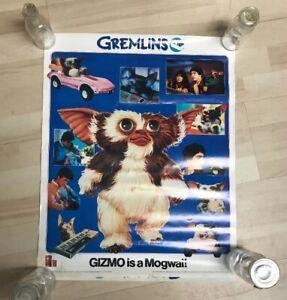 Vintage Gremlins Promo Poster Two Sided Hi-C Spike Gizmo Original