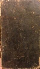 Philosophy and Wit 19th Century Antique Book by Reed 1827 Leather Bound RARE