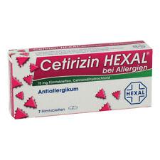 Cetirizin HEXAL bei Allergien 7stk PZN 01830146