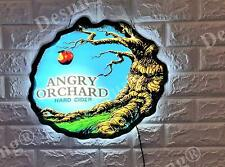 """New Hard Cider Angry Orchard 3D Led Neon Light Sign 17"""" Beer Bar Wall Decor"""
