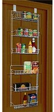 Storage Dynamics 5 Foot Over The Door Rack Organizer Kitchen Pantry Spice Shelf
