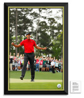 Tiger Woods Facsimile Signed Masters - Framed Museum Canvas™ Special Edition