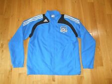 Adidas SAN JOSE EARTHQUAKES MLS Soccer Zip Up Jacket Mens XL WINDBREAKER